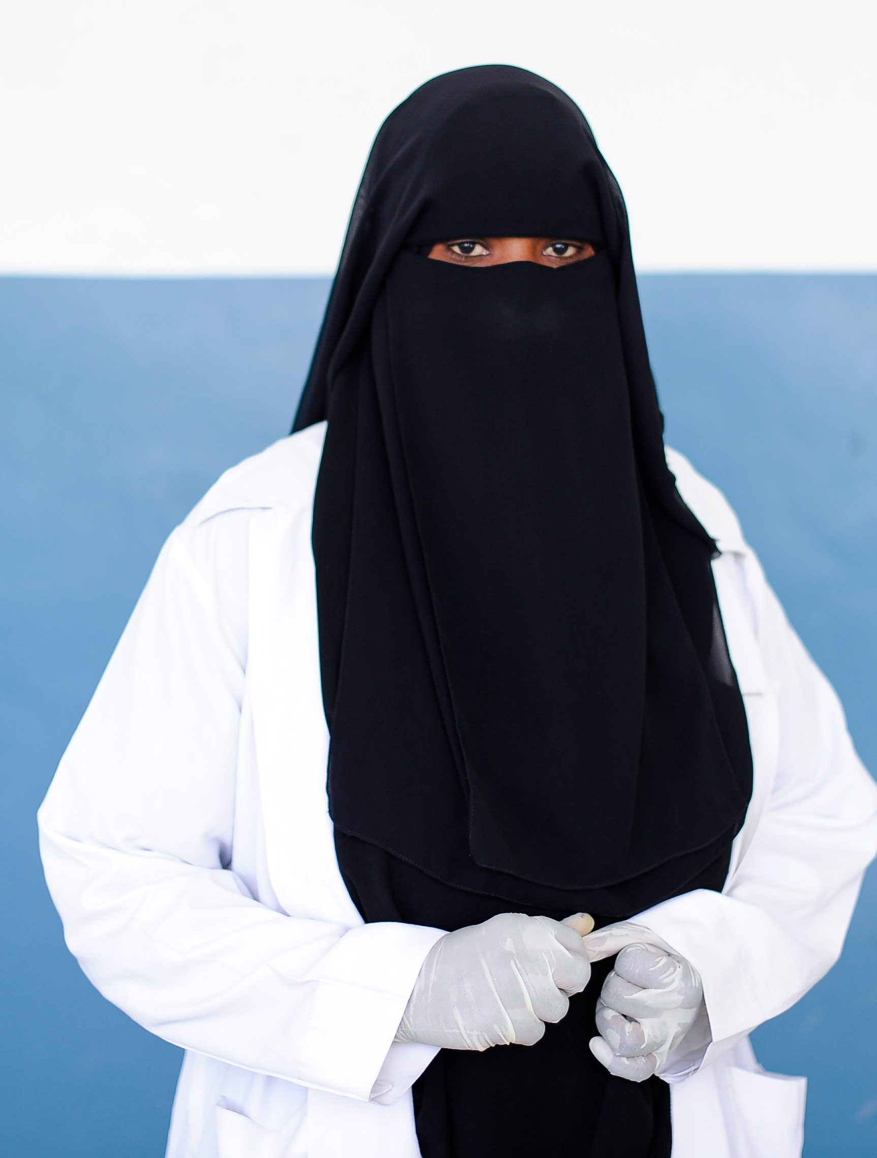 Filea Nurse Stands In Banadir Hospital On World Aids Day -6183