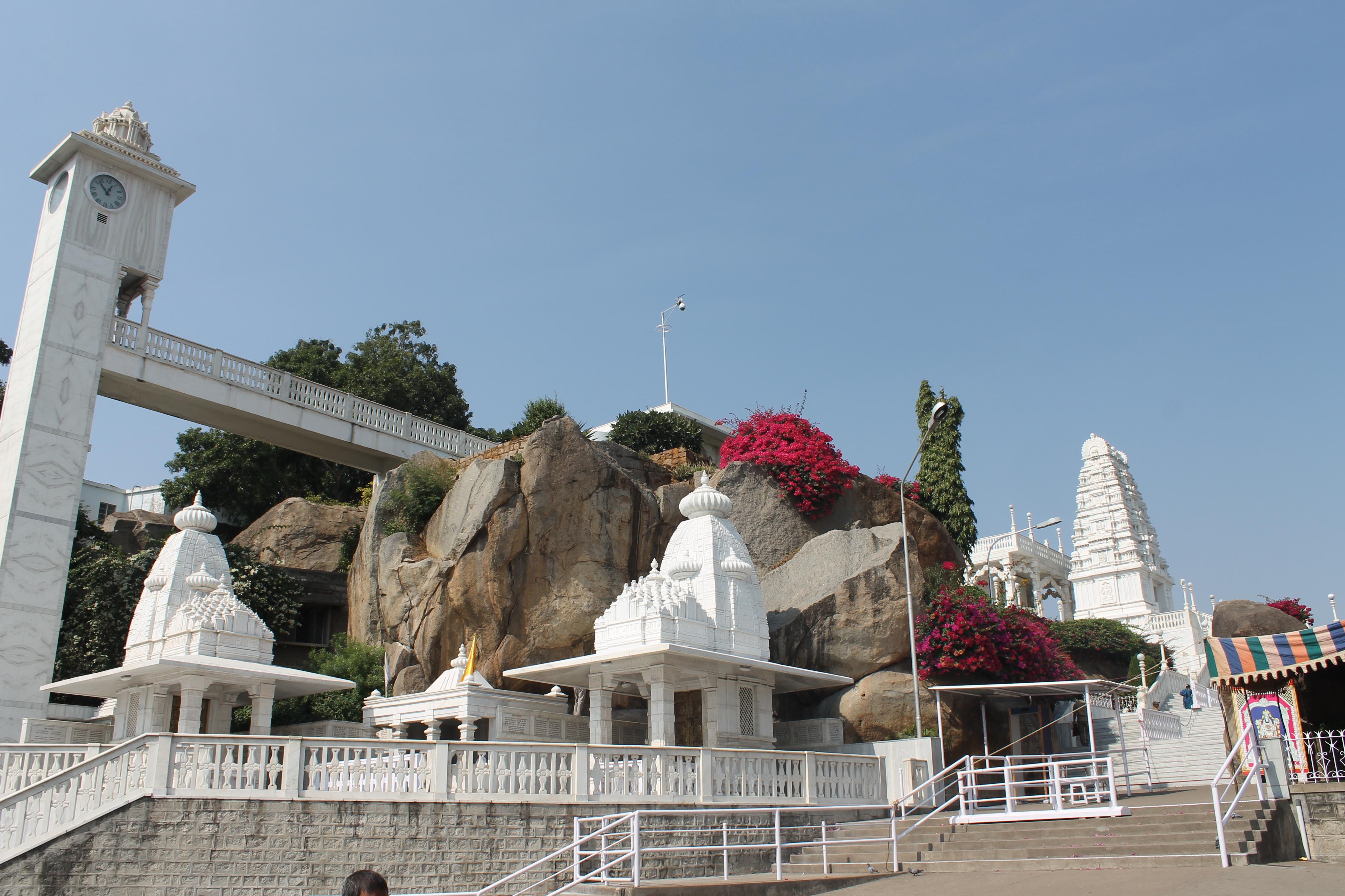 File:A white Marble stone Birla Mandir Hyderabad Telangana