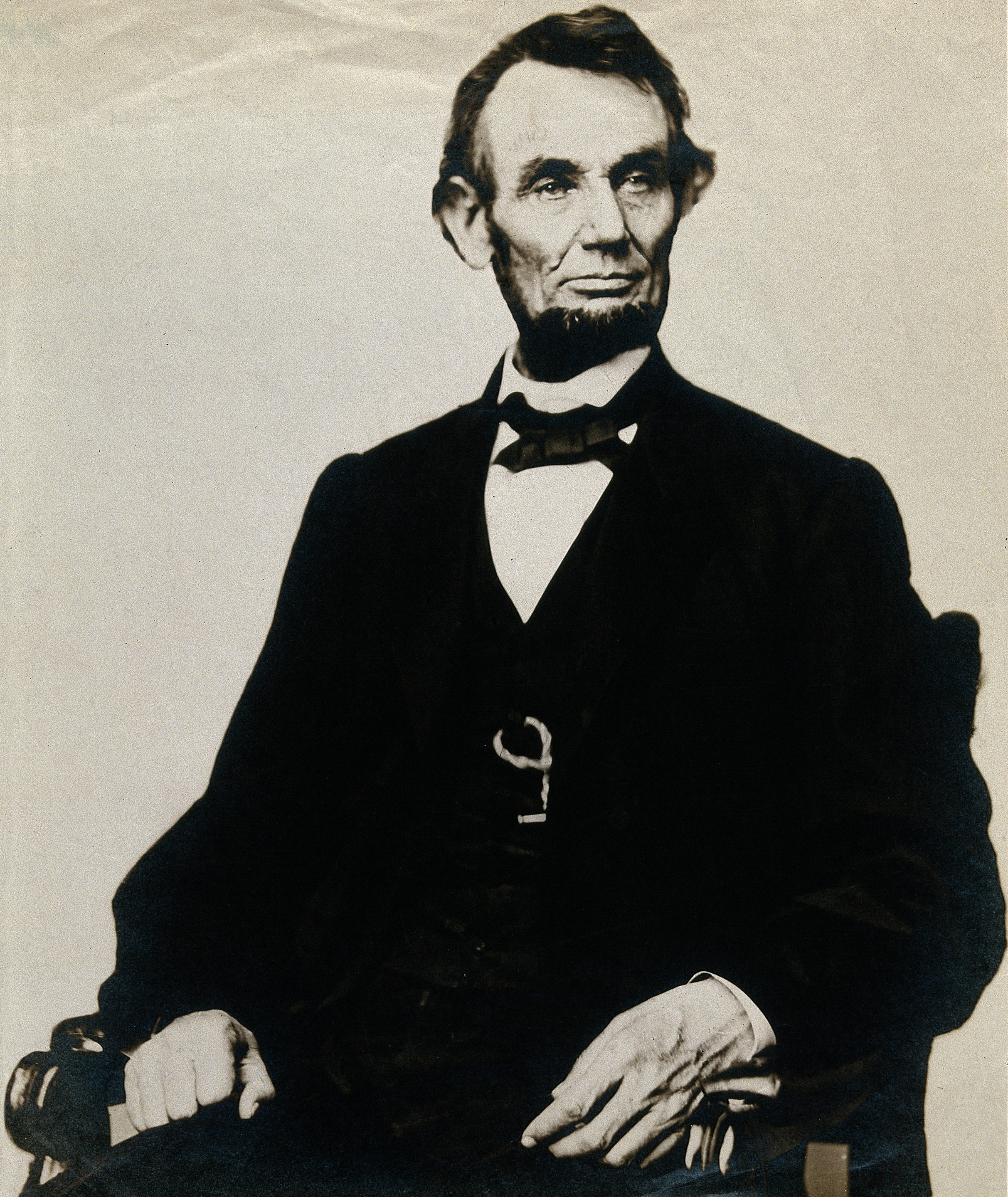 File Abraham Lincoln Photograph After Mathew B Brady
