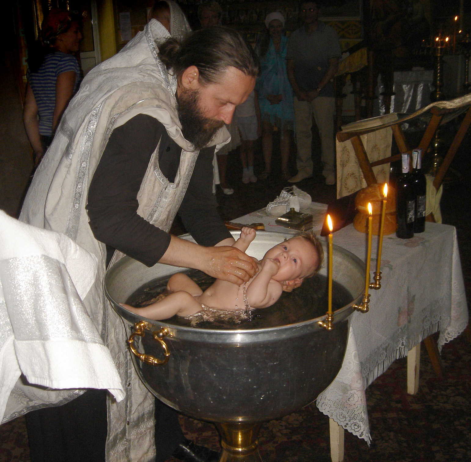 an analysis of the act of baptism in the orthodox christian church