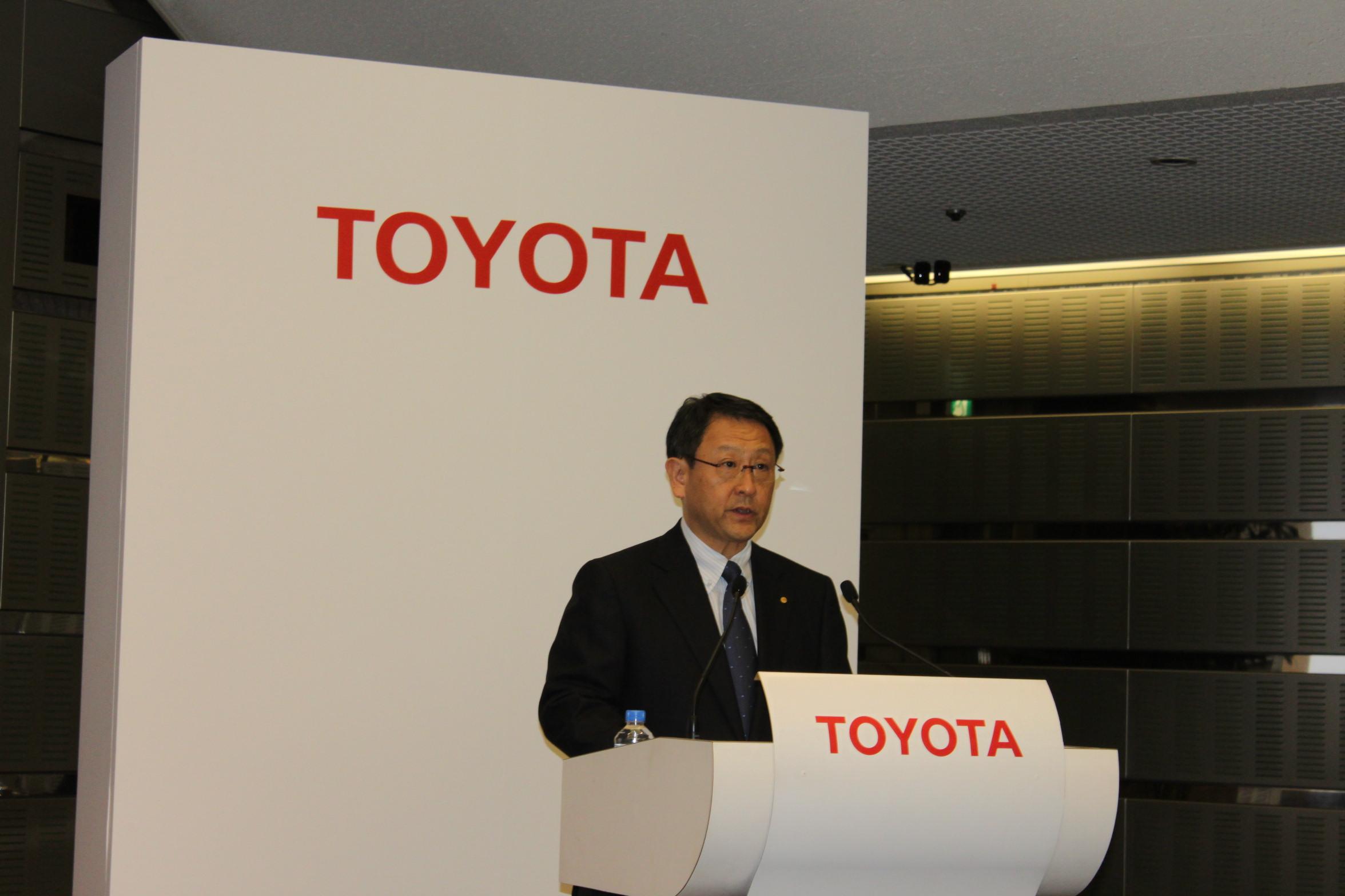 Akio Toyoda of Toyota