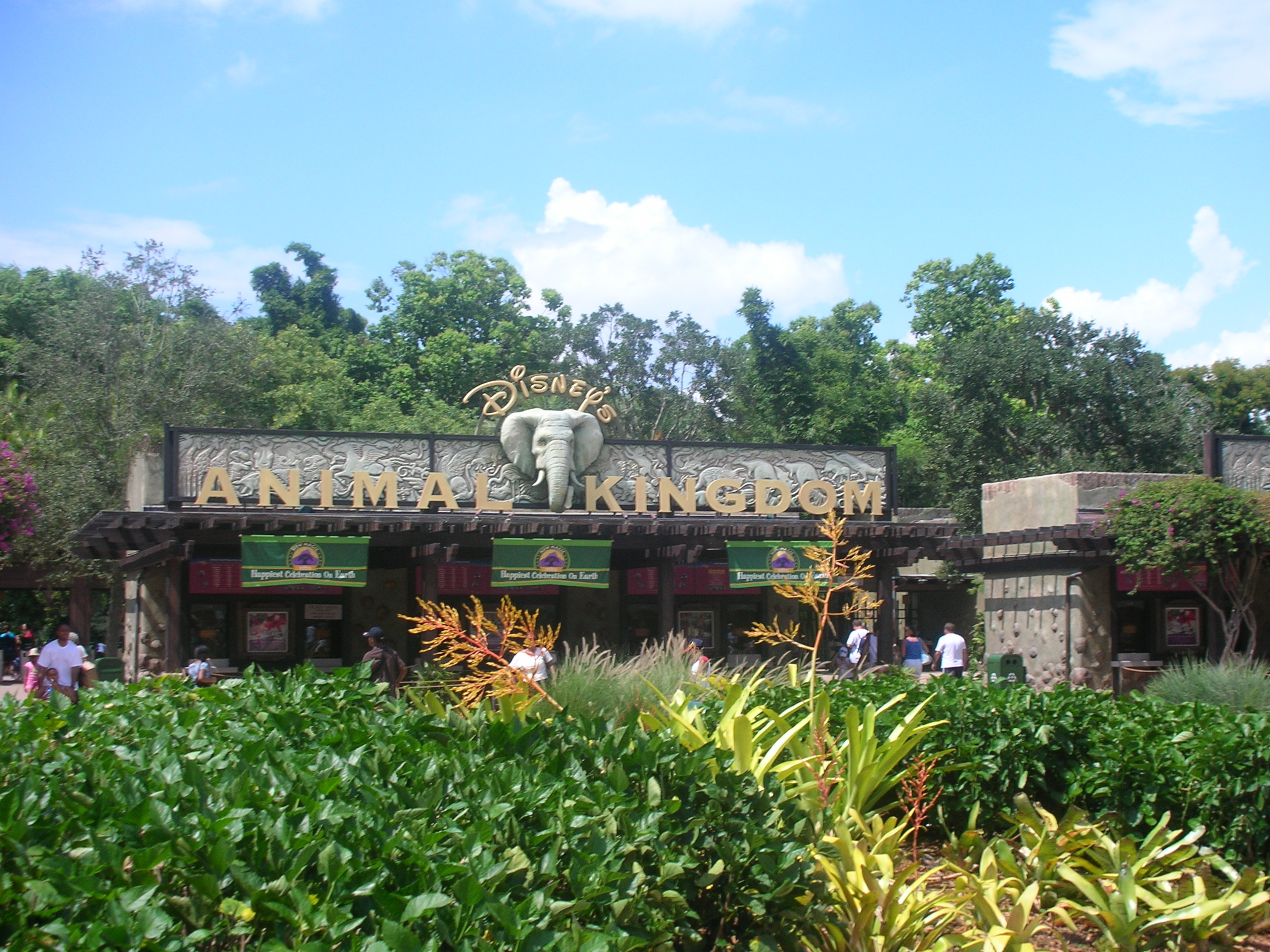 Walt Disney World Resort AnimalKingdomEntrance