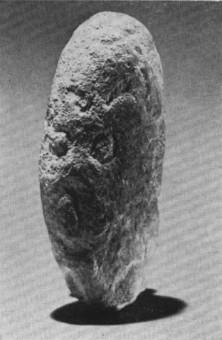 La plus ancienne figuration humaine trouvée en Afghanistan, site d'Aq Köprük, v. 20 000 avant le présent.