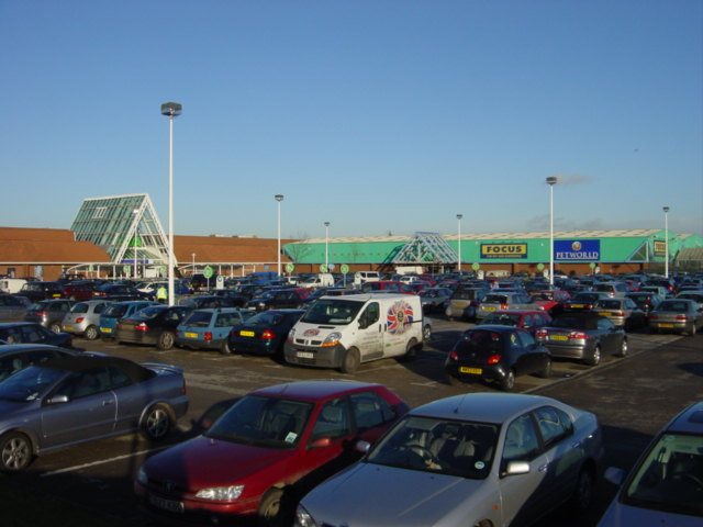 Asda Car Park Rugby