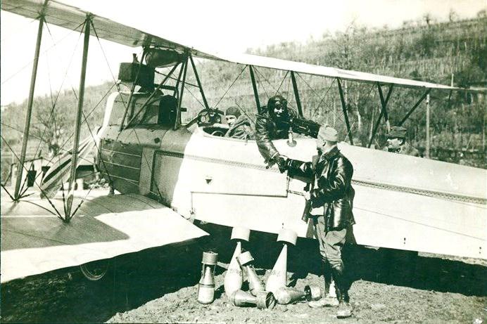 Резултат с изображение за Първо използване на авиация за военни цели