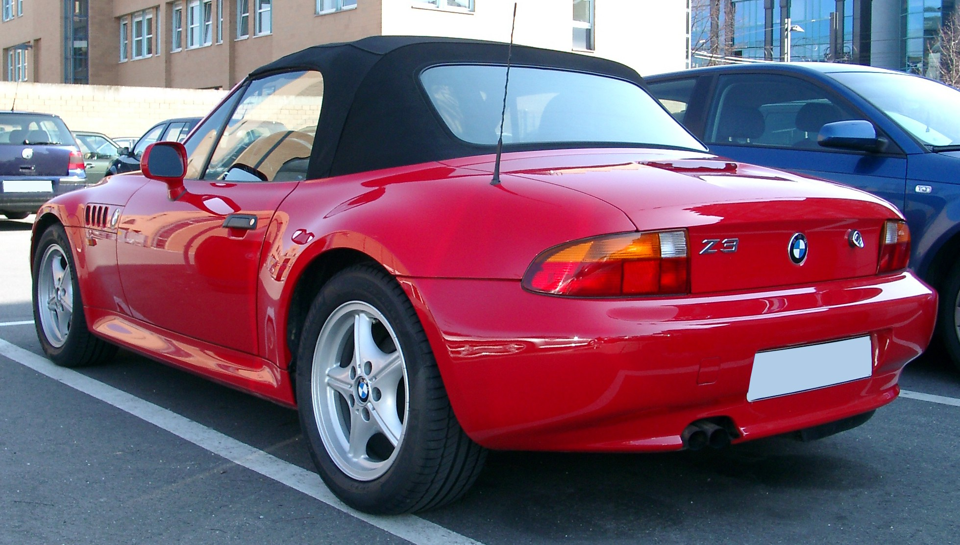 File Bmw Z3 Rear 20070306 Jpg Wikipedia