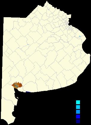 Bahia Blanca Partido Wikipédia - Argentina map bahia blanca