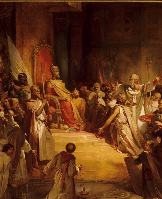 HISTOIRE ABRÉGÉE DE L'ÉGLISE - PAR M. LHOMOND – France - 1818 - DEUXIEME PARTIE ( Images et Cartes) Balduino-I-de_Constantinopla