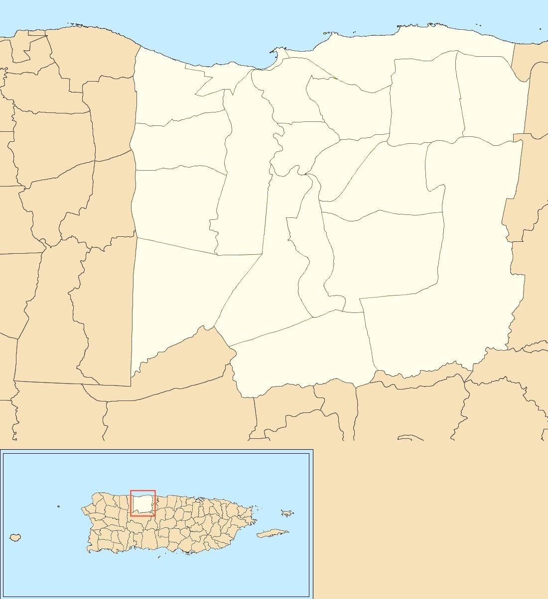 map of arecibo puerto rico File Barrios Of Arecibo Puerto Rico Locator Map Jpg Wikimedia map of arecibo puerto rico