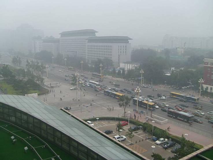 Beijing Hotel Smog