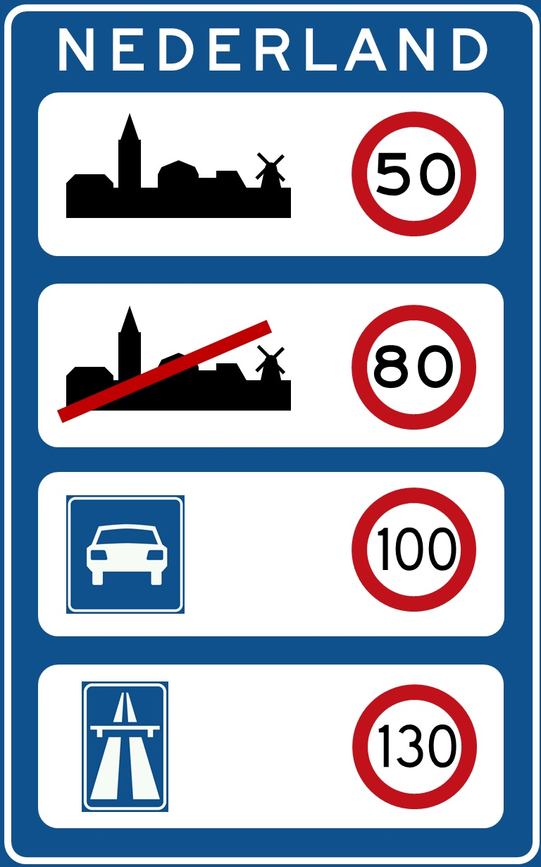Speed limits in the Netherlands - Wikipedia