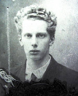 Blacher, in a passport photo of 1922