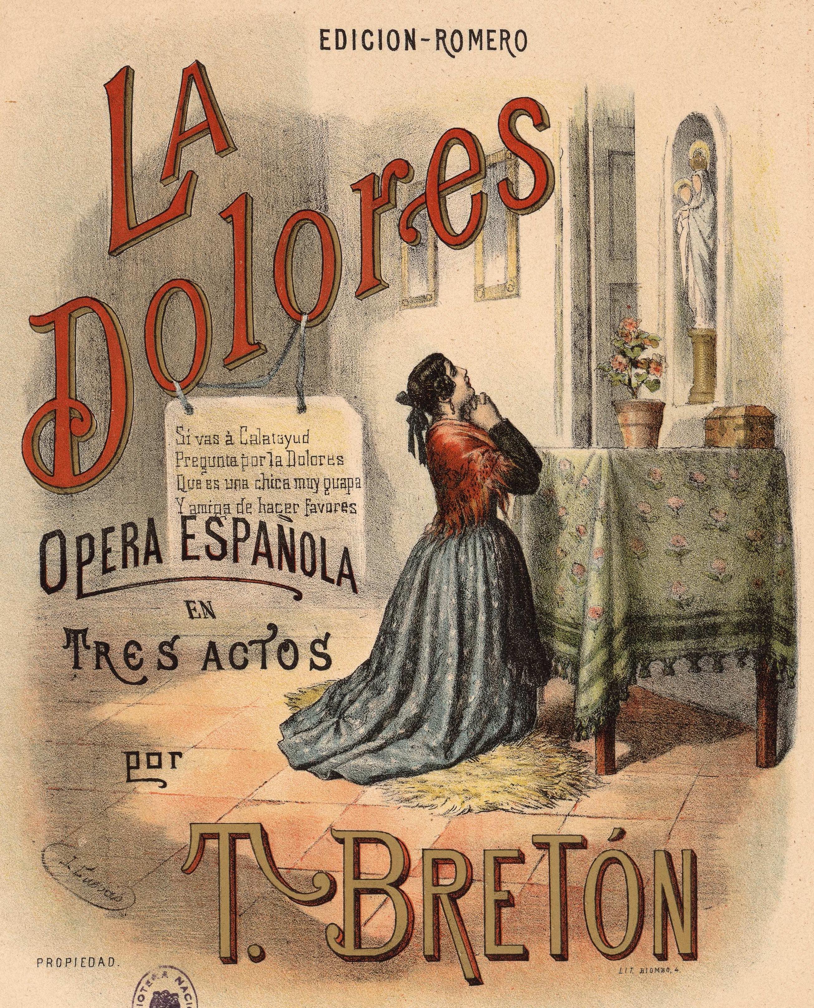 La Dolores Wikipedia La Enciclopedia Libre