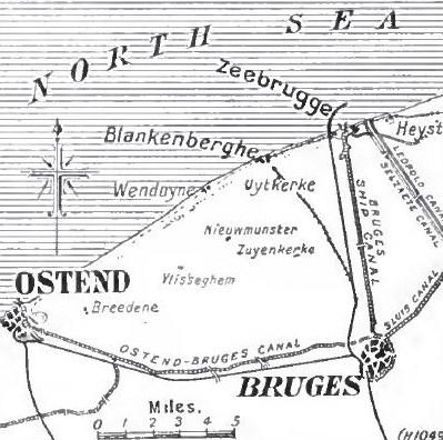 Canales Brujas Zeebrugge, Ostende