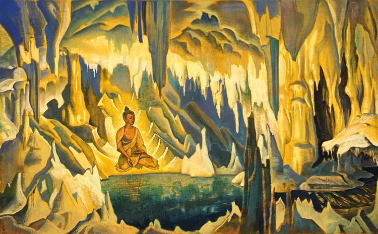 Buddha the winner Nicholas Roerich 1925