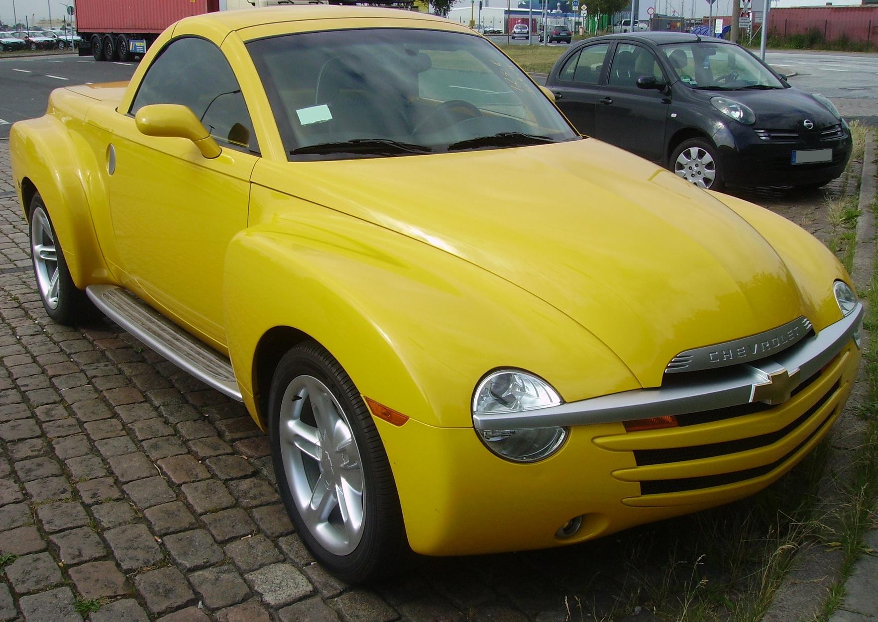 Chevrolet Ssr Wikipedia