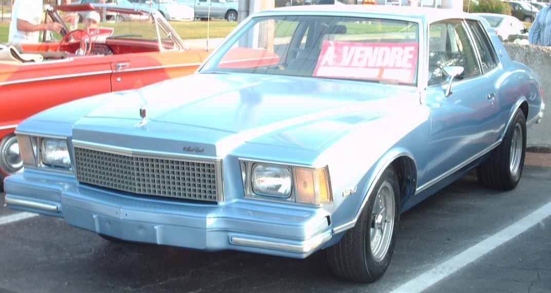 Chevrolet Monte Carlo - Simple English Wikipedia, the free ...