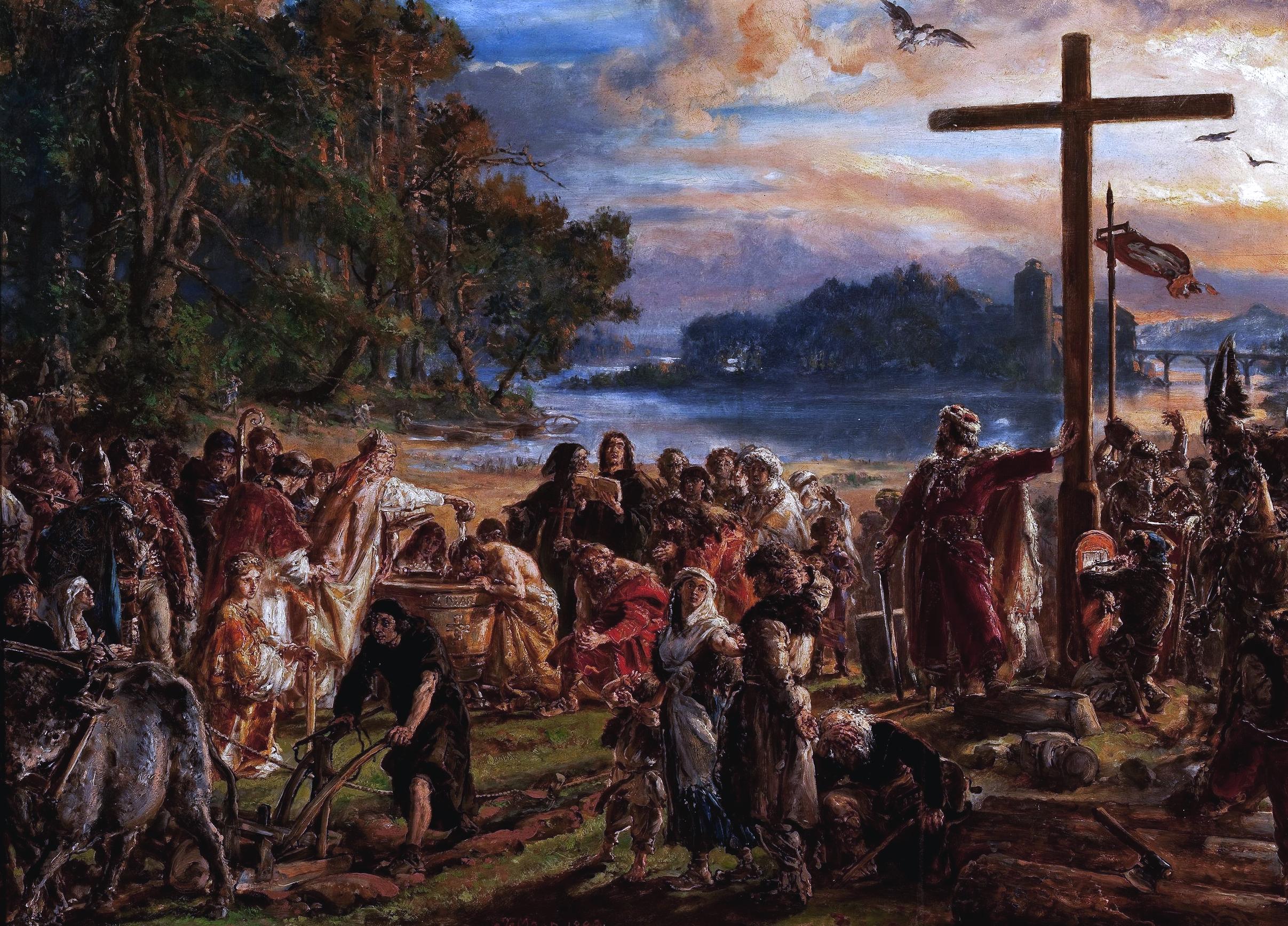 https://upload.wikimedia.org/wikipedia/commons/1/19/Christianization_A.D._965_by_Jan_Matejko_%281889%29.png