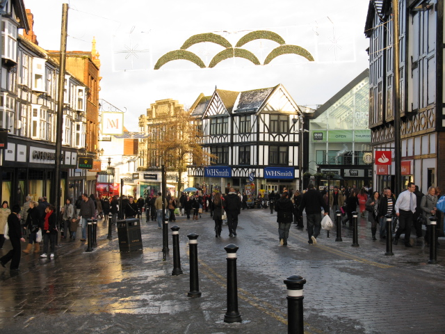 Christmas Shopping, Wigan - geograph.org.uk - 1630839.jpg