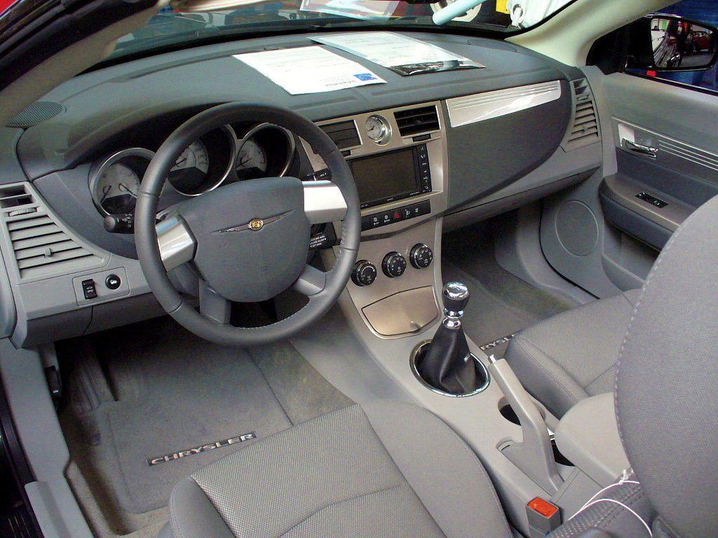 File Chrysler Sebring Cabrio Innen Jpg Wikimedia Commons