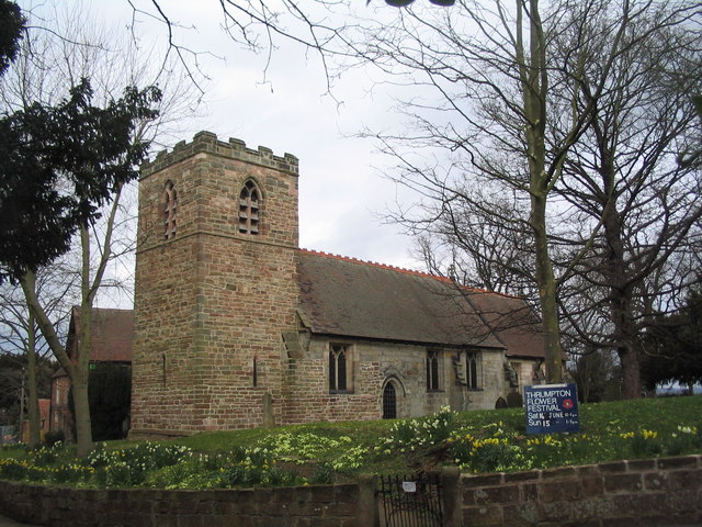 Church of All Saints, Thrumpton - geograph.org.uk - 739617