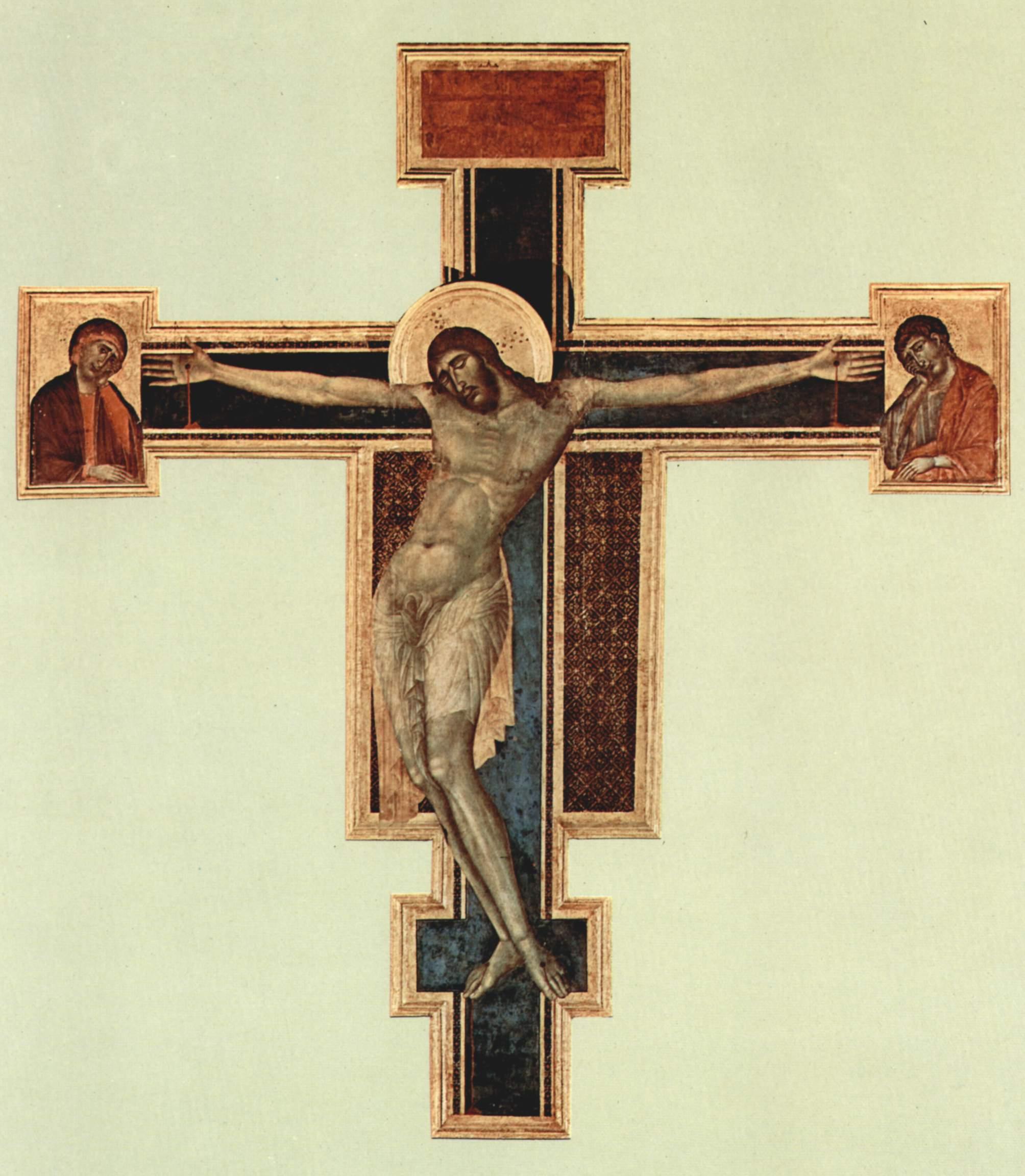 Croce.Crucifix Cimabue Santa Croce Wikipedia