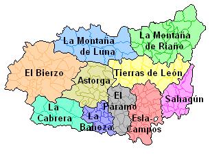Comarques agraries, Ministeriu d'Agricultura, Pesca y Alimentación (1996).