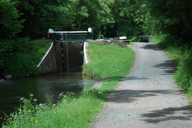 Cwmcrawnon Locks - geograph.org.uk - 1374519