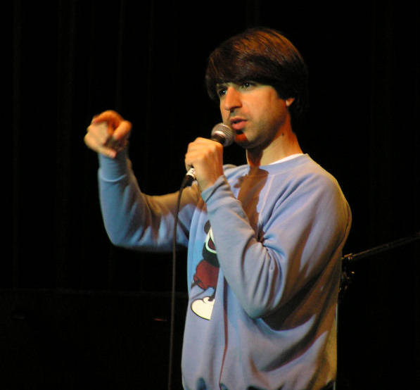 Portrait of Demetri Martin