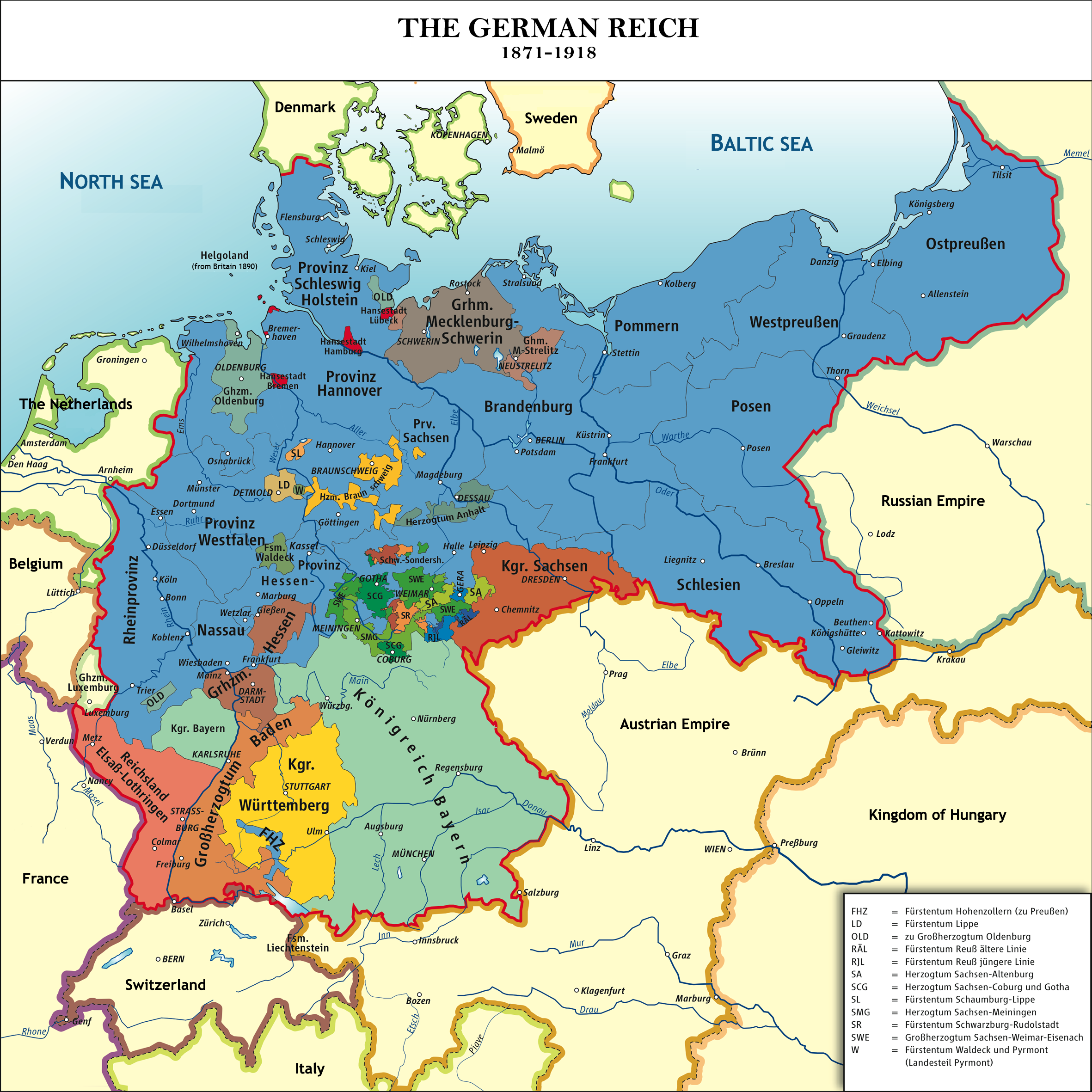 Unification Of Germany Wikipedia