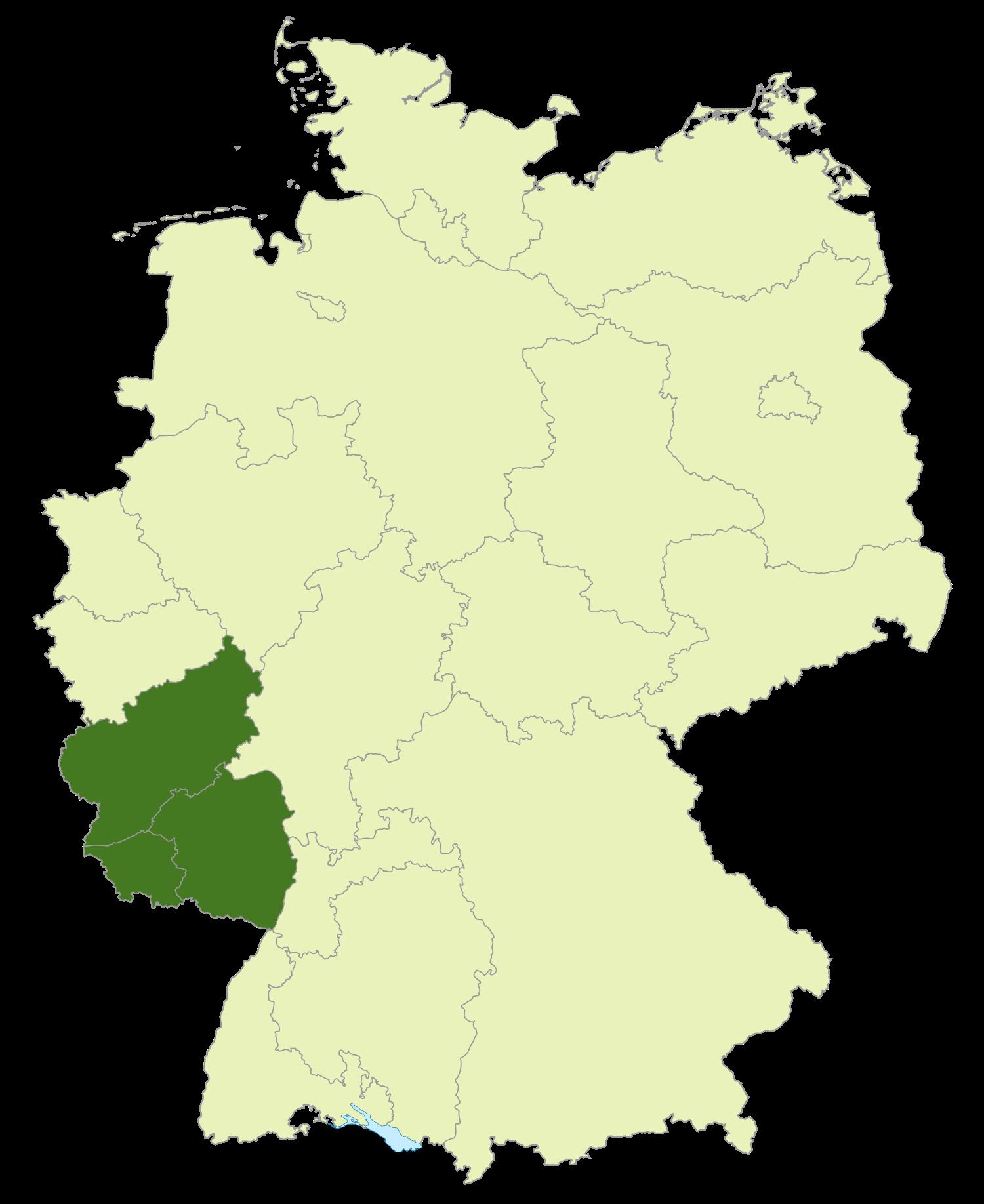 Deutschland Lage von Südwestdeutschland.png