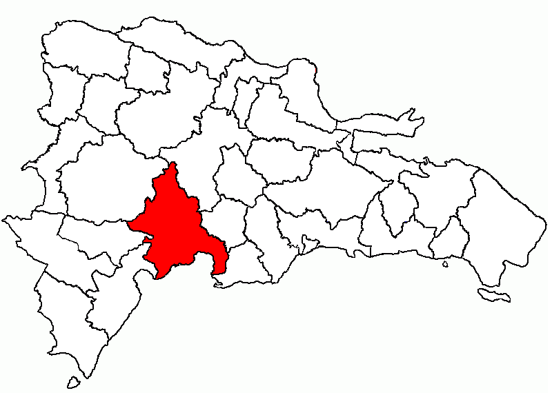 Location of the Azua Province