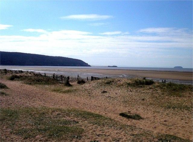 Dunes at Sand Bay, Somerset - geograph.org.uk - 341797