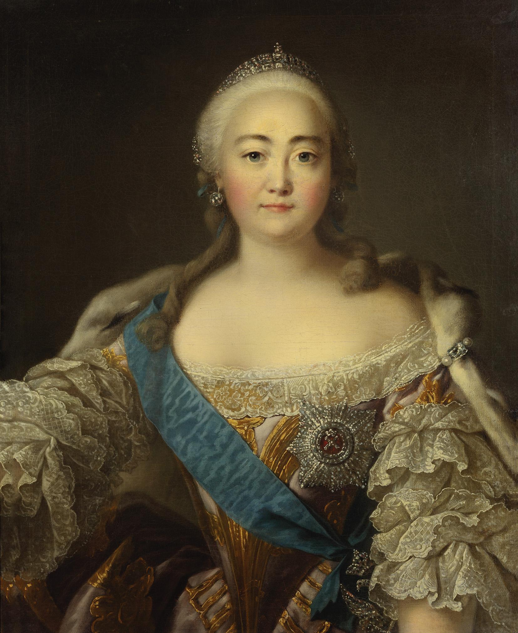 Isabel I, obra de Iván Argunov..