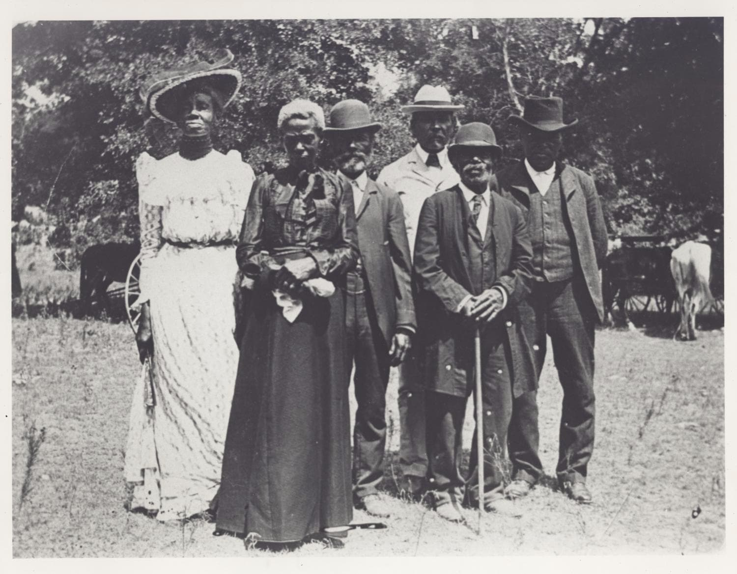 Juneteenth day celebration in Texas, June 19, 1900