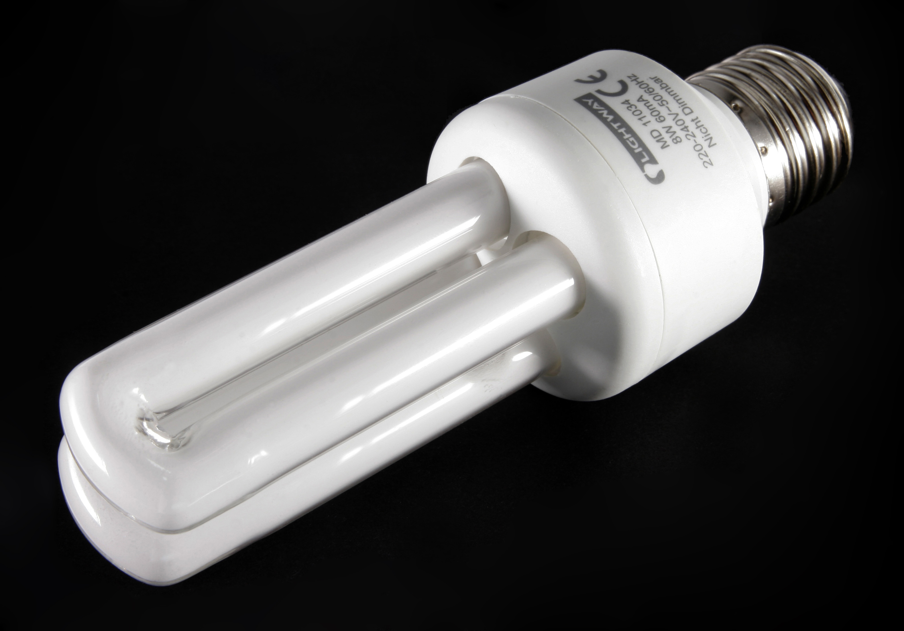 Kompaktleuchtstofflampe wikipedia kompaktleuchtstofflampe energiesparlampe mit integriertem vorschaltgert evg und edison schraubsockel e27 parisarafo Gallery