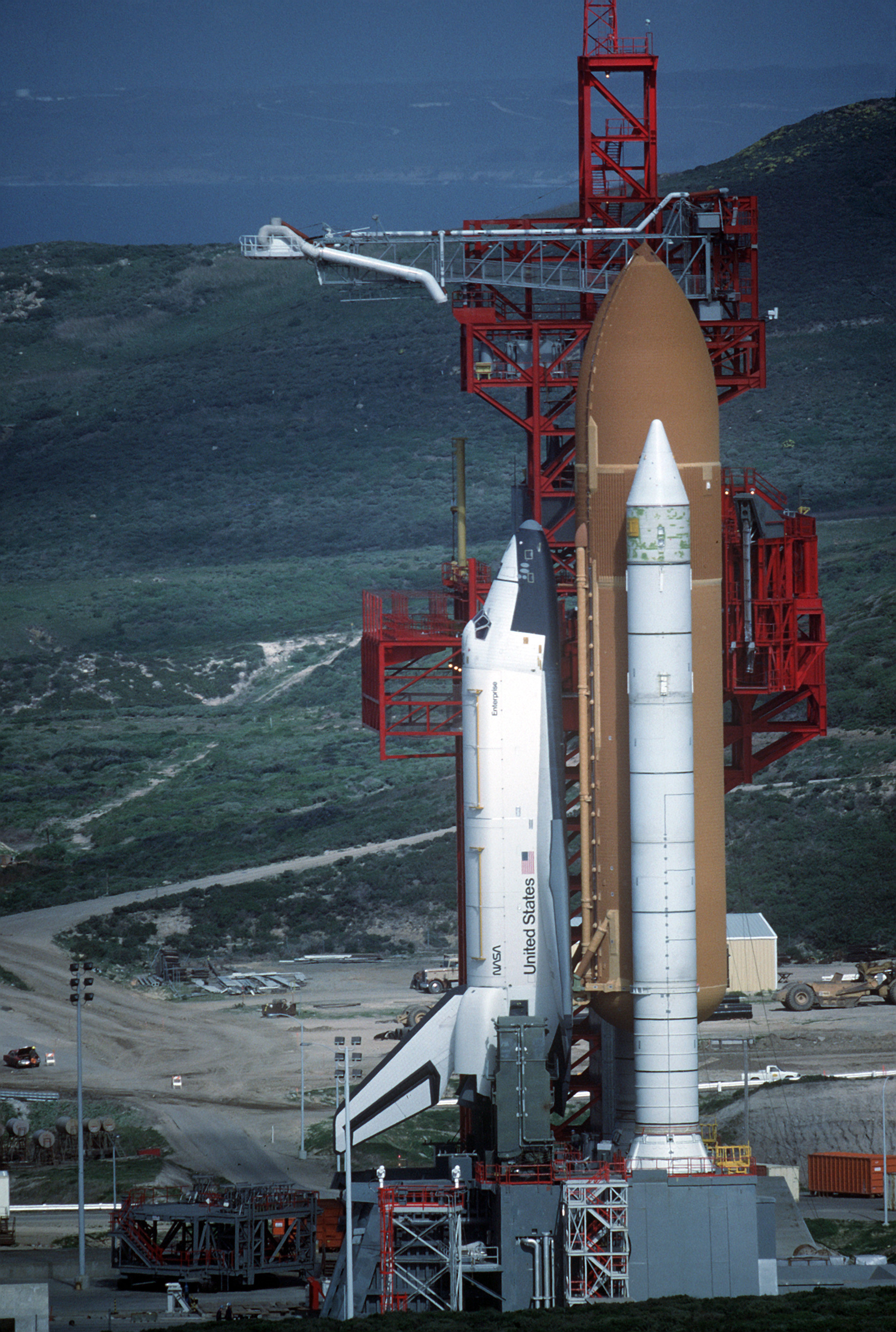 space shuttle at vandenberg - photo #1