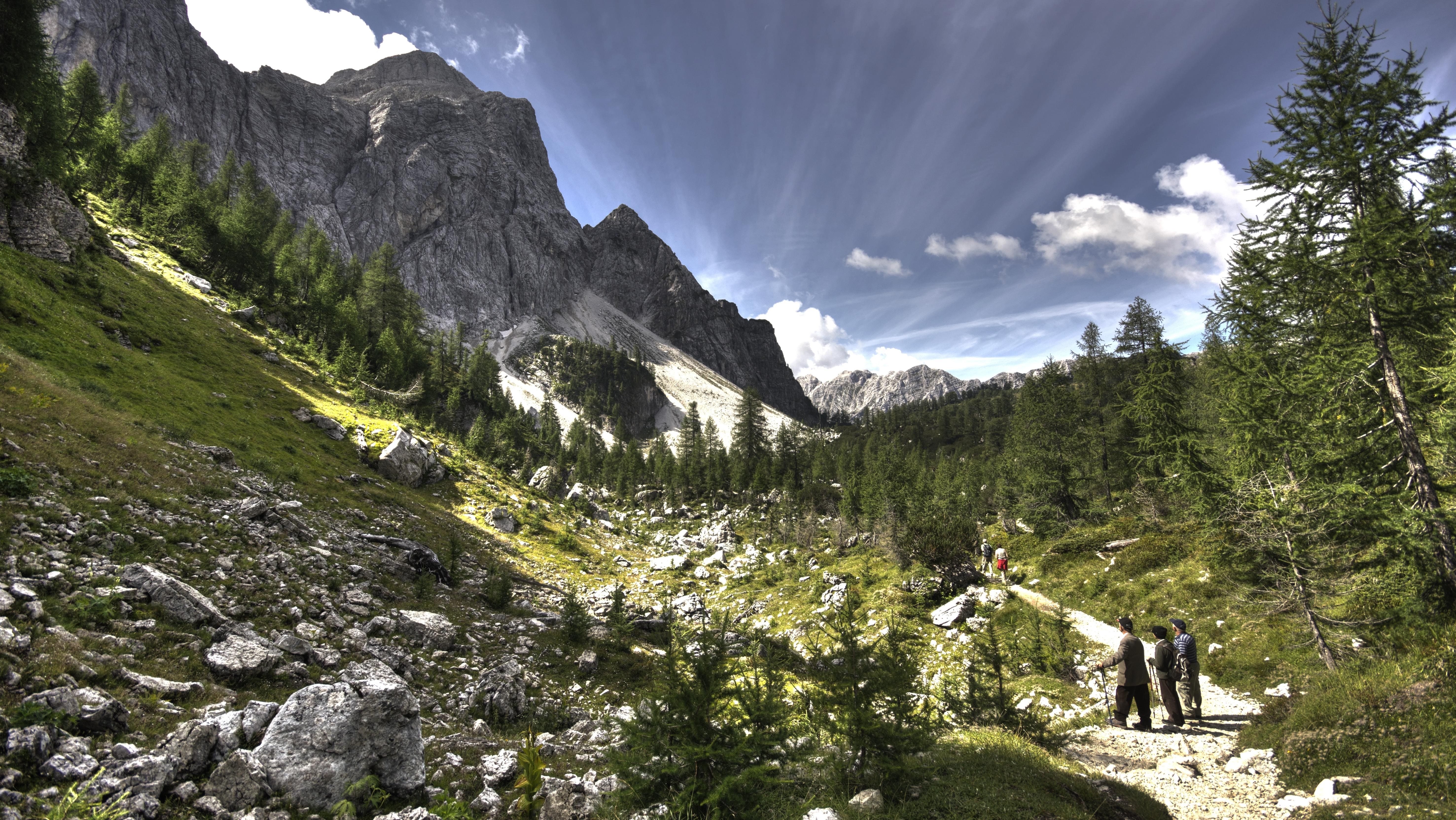 rutas de montana
