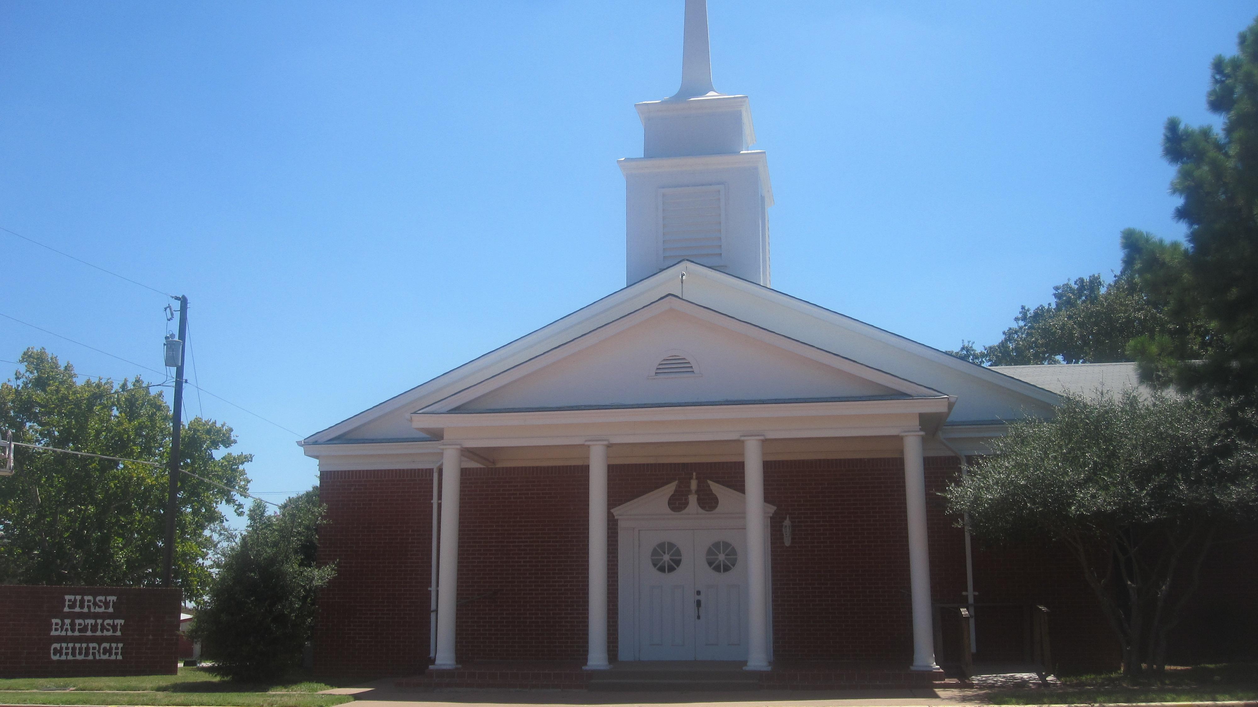 File First Baptist Church Ranger Tx Img 6450 Jpg Wikipedia