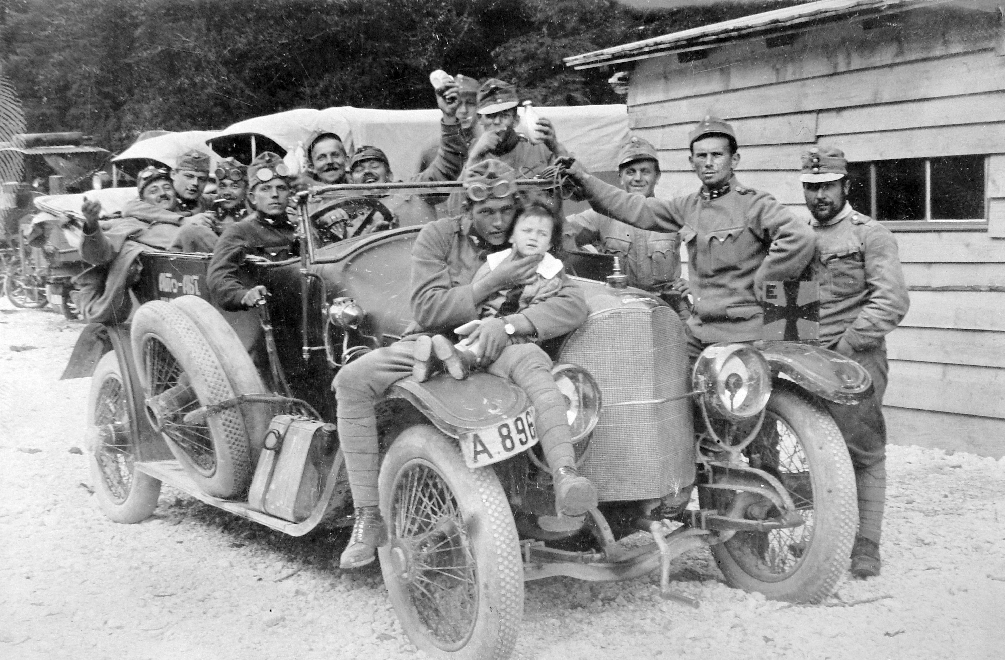 File:First World War, Gräf&Stift-brand;, soldier, uniform, kid ...