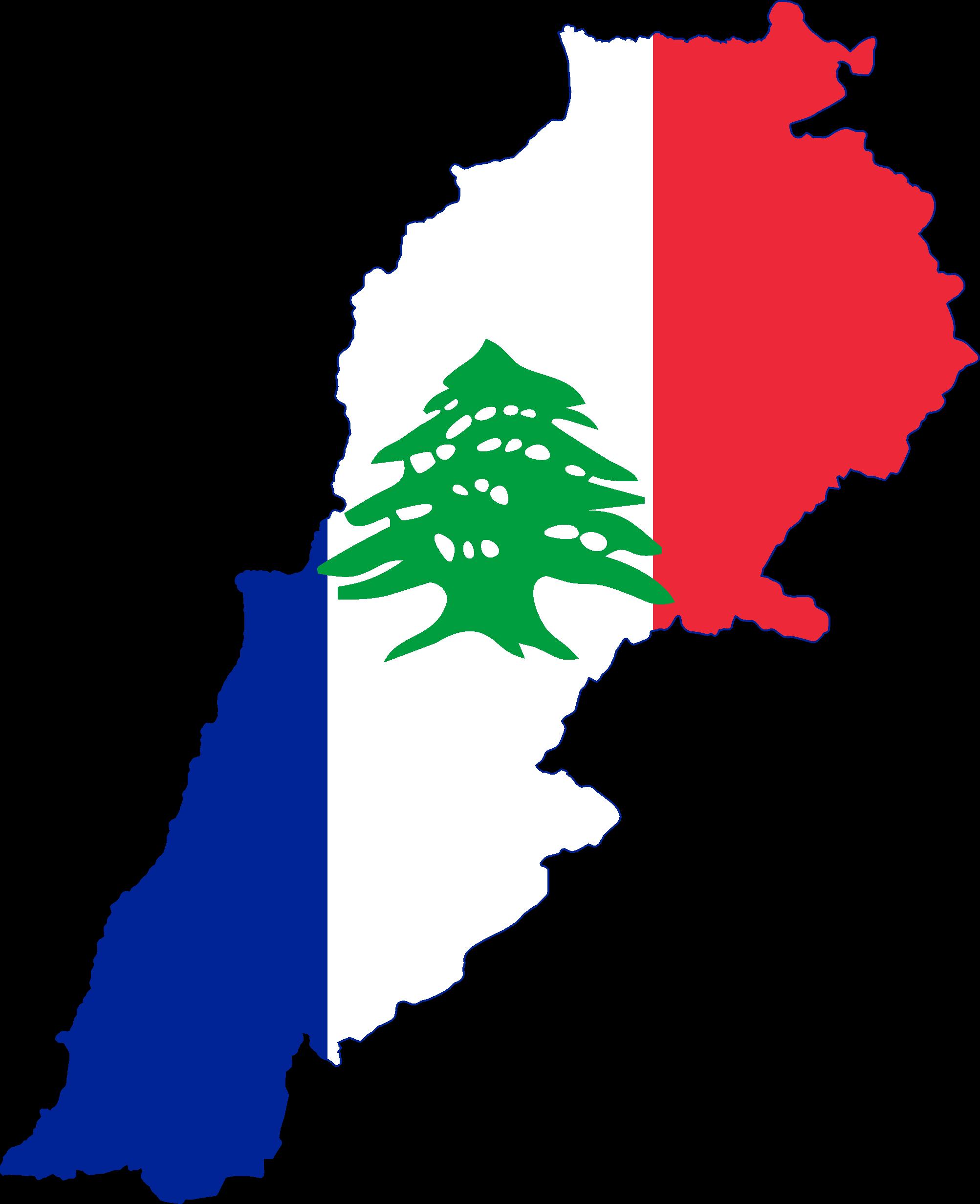 fileflag map of french lebanonpng wikimedia commons