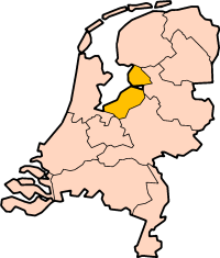 Location of Flevoland