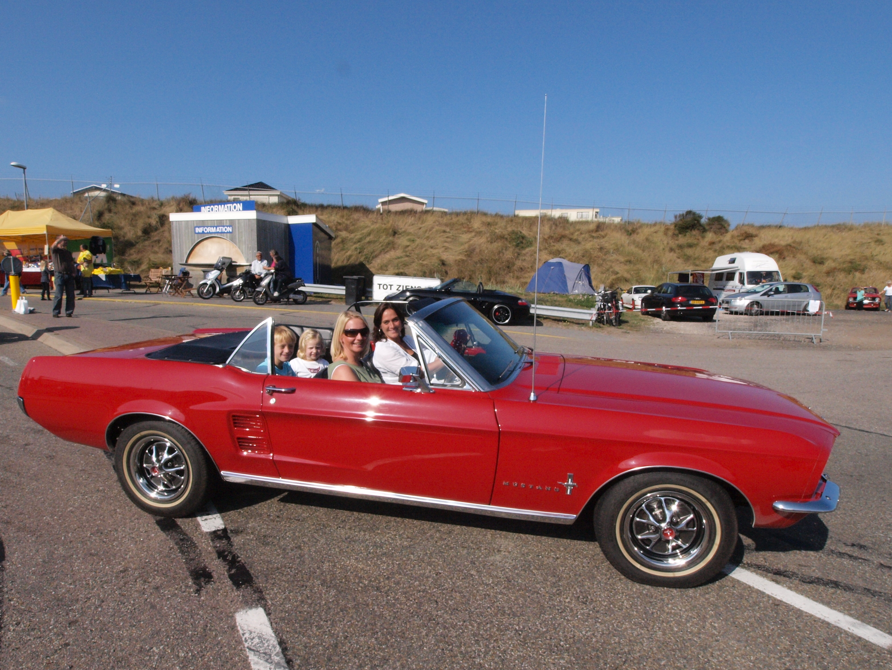 File Ford Mustang Convertible Dutch Licence Registration