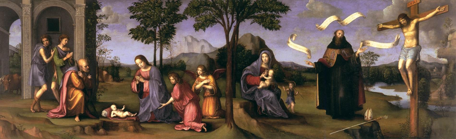 http://upload.wikimedia.org/wikipedia/commons/1/19/Francesco_Francia_-_Adoration_of_the_Child_-_WGA08171.jpg