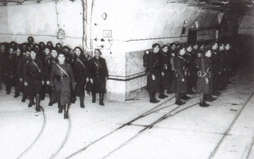 Soldados franceses en la Línea Maginot