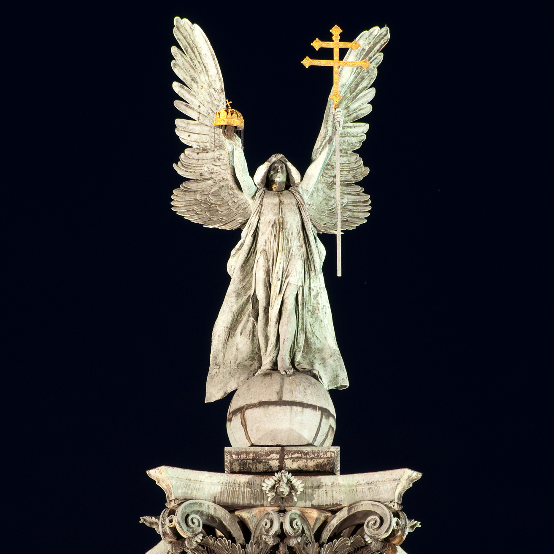 Gabriel Angel Statues File:Gabriel archangel...