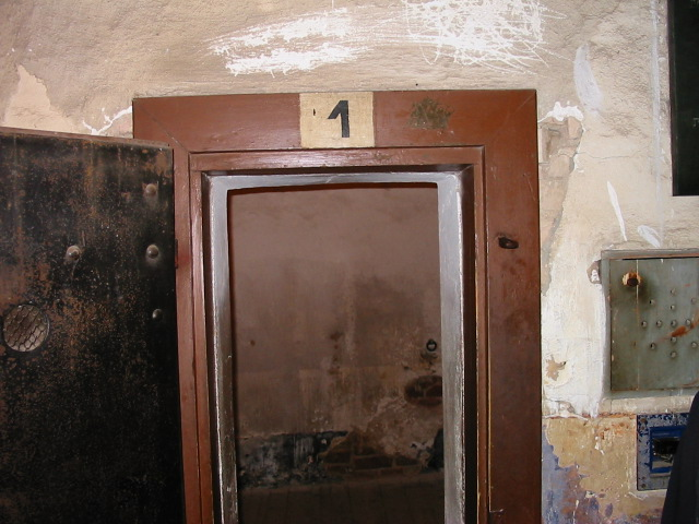 The cell where Gavrilo Princip was kept