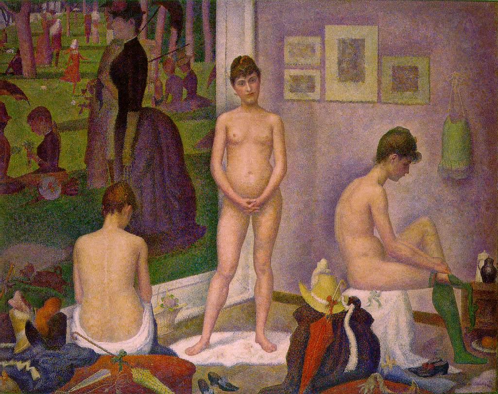 Georges Seurat - Les Poseuses.jpg