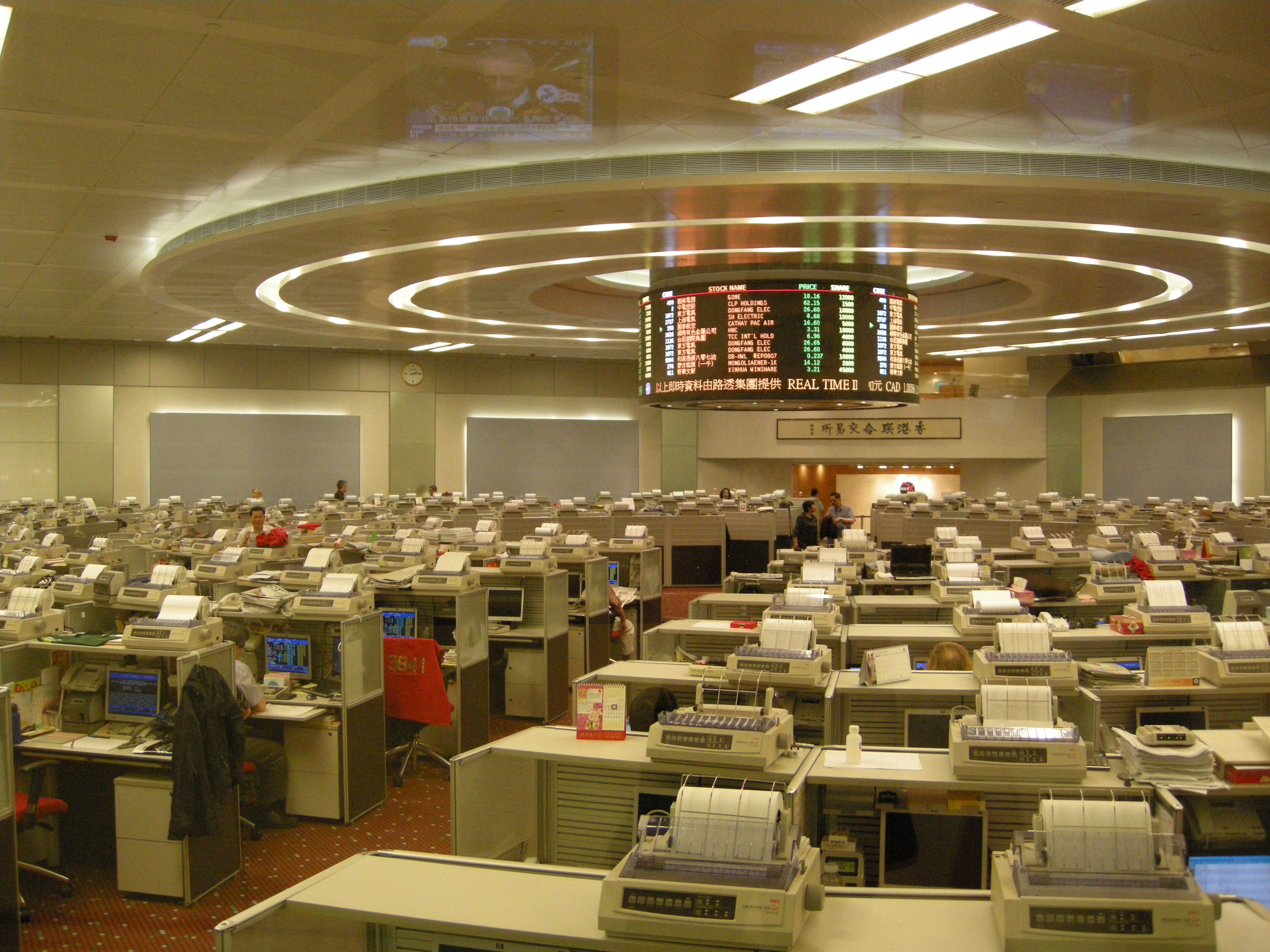 stock exchange of hong kong options clearing house