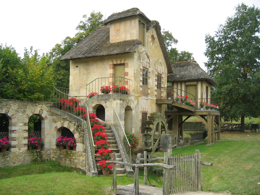 Storybook style homes, Le Petite Hameau